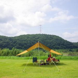デイキャンプ-202007-@吉井川ふれあいパーク