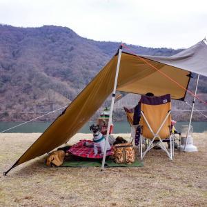 吉井川の河川敷でデイキャンプ@大内ふれあい公園
