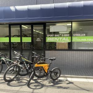 レンタルE-Bikeを東京浅草のCycleTrip Baseで乗ってみた!