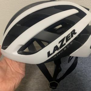 LAZER 軽量ロードバイクヘルメット GENESIS AFのインプレ!