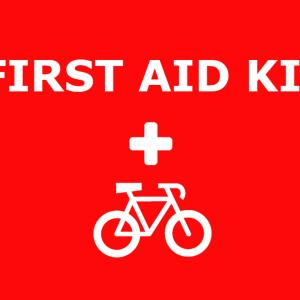 サイクリング中の怪我の応急処置にファーストエイドキットを携帯しよう!