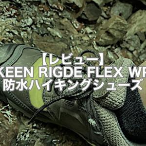 【レビュー】KEENハイキングシューズ RIDGE FLEX WP ローカット