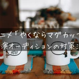TVアニメ「やくならマグカップも」声優出演オーディションの対策法とは?