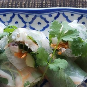 家庭で作る本格的タイ料理シリーズⅥ ゴイクン 生春巻き