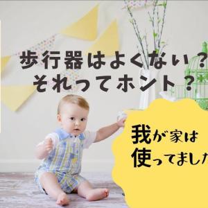 歩行器は良くない?赤ちゃんの成長を妨げるってホント?我が家の場合…