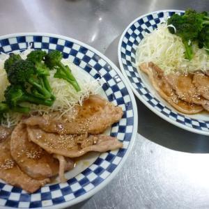 豚肉多めな、晩ご飯~!