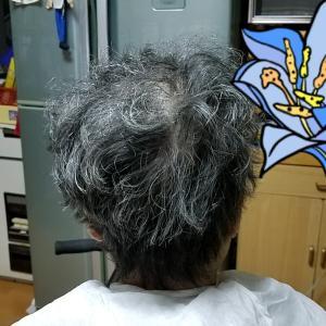 義母の、散髪~!笑