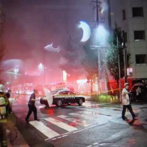 未明の名古屋・新栄の飲食店で火事、1人死亡 周囲にも燃え移る
