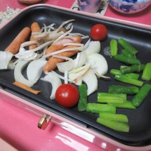 BRUNOでお野菜たっぷり頂きます