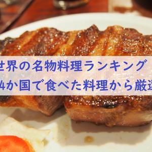 絶品!各国の名物料理ランキング【54か国で食べたご飯】