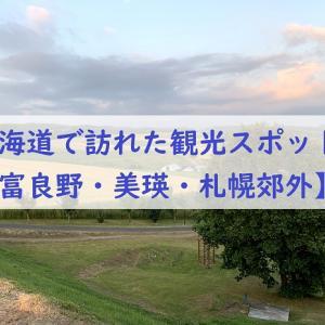 幼児連れ北海道旅行で訪れた観光スポット【富良野・美瑛・札幌郊外】