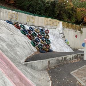 ロング滑り台がある元動物園の『諏訪山公園』を訪問【神戸】