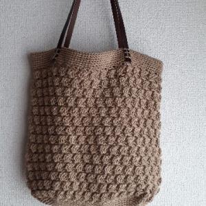 完成!「ハンドニットのワードローブ」よりかぎ針編みのバッグ【画像あり】