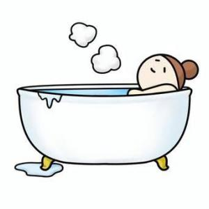 無汗症と半身浴