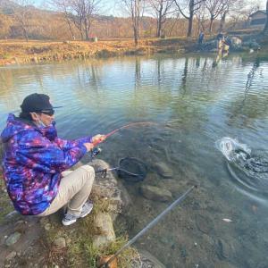 秘境の釣り場! 蛇尾川フィッシングパーク