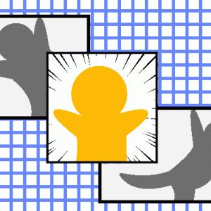 【クリスタ】重なるコマ(3パターン)を作ってみよう!