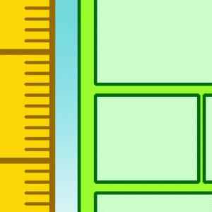 クリスタのコマ枠をミリ単位で長さを指定して作成する方法はあります!!