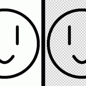 クリスタでアナログ漫画原稿の白い部分を操作1つで透明にする方法!!