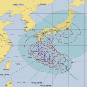 台風14号「チャンホン」や米軍(JTWC)とヨーロッパ(ECMWF)の最新進路予想とチャンホン(Chan-hom)の名前の由来や意味は?