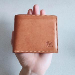 【レビュー】イルビゾンテ二つ折り財布は最高です|プレゼントにも