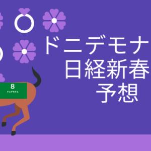 日経新春杯予想2021(最終予想更新済)