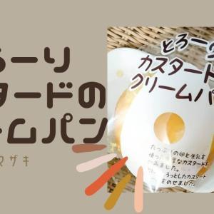 とろーりカスタードのクリームパンを食べてみた【ヤマザキ】