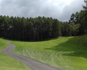 水上高原ゴルフコース1日目