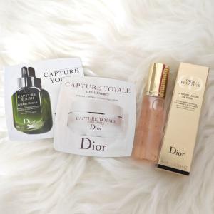 袋も使える!Diorのサンプルコスメ