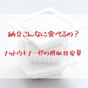 納豆博士は納豆で血栓を溶かすナットウキナーゼを1日分摂れる