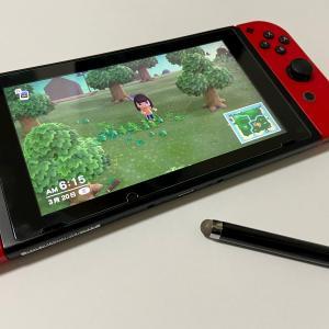Switch「あつまれどうぶつの森」はタッチペンで操作できる?