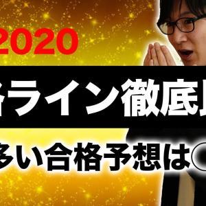 【宅建2020】解答速報!合格ラインはここだ!