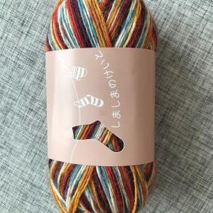 靴下を編む