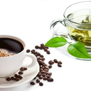 コーヒーや緑茶を1日1杯以上飲むと寿命が伸びるかも?という研究