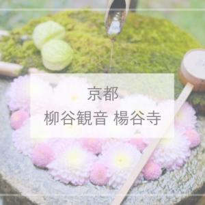 【京都】花手水がかわいい!柳谷観音 楊谷寺