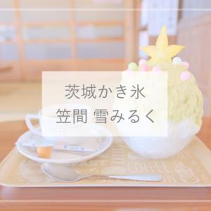 【茨城かき氷】予約必須!フルーツのかき氷がおいしい古民家カフェ「笠間 雪みるく」