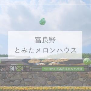 【富良野カフェ】おいしいメロンのスイーツが食べられる!『とみたメロンハウス』