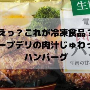 えっ、これが冷凍食品?コープデリの肉汁じゅわっとハンバーグが美味すぎる!
