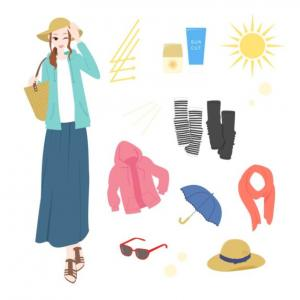 紫外線が気になる季節です。40代は日焼け止めの使い分けで肌の老化対策を!