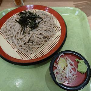 仙台駅内の「立ちそば処 杜」でざるそばを食べてきた。