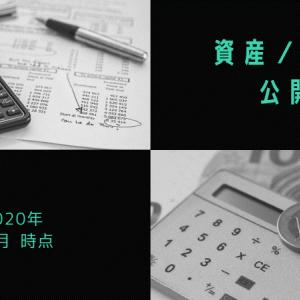 資産・貯金状況を公開!【2020年11月〆】