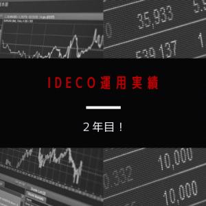 [積立開始から2年たちました!]公開します!iDeco運用実績【2年目!】