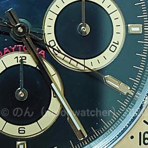 【積算計の運針】クロノグラフの研究【chronograph】