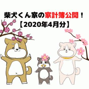 柴犬くん家の家計簿公開!【2020年4月分】
