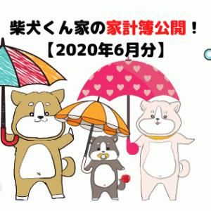 柴犬くん家の家計簿公開!【2020年6月分】