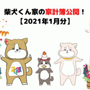 柴犬くん家の家計簿公開!【2021年1月分】