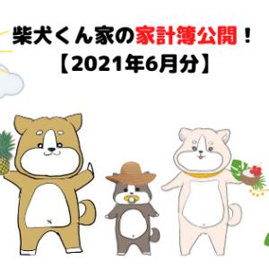 柴犬くん家の家計簿公開!【2021年7月分】