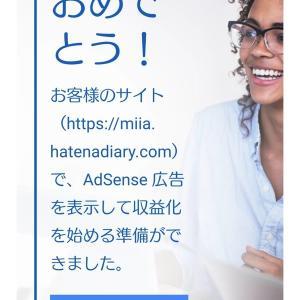 2021年1月【無料はてなブログでアドセンス通過】!!。