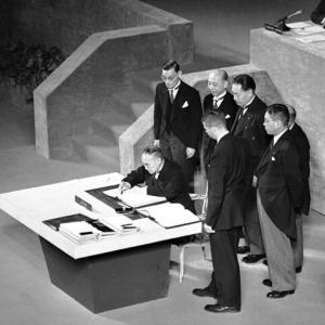 サンフランシスコ講和条約とはどんな条約?その経緯や内容についてわかりやすく解説!