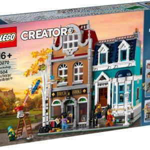 レゴクリエイターエキスパート 本屋さん 10270がクリックブリックでも販売開始