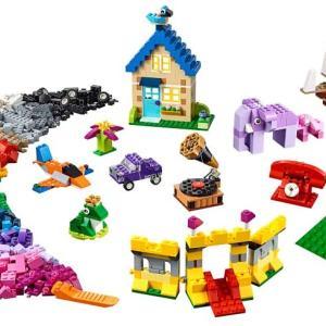 2020年プレゼント用レゴはこれしかない!クラシック ブロック プレート 11717